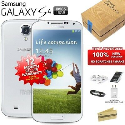 New Sealed Unlocked SAMSUNG Galaxy S4 I9505 White 4G LTE Android Mobile Phone
