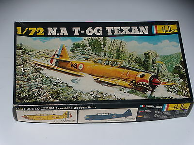 Maquette - N.a T- 6G Texan - Heller - 1/72  - Model Kit- Complete