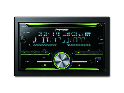 Pioneer Fh-X785Bt Double Din Cd/fm Receiver Bluetooth Aux Usb Android Iphone New