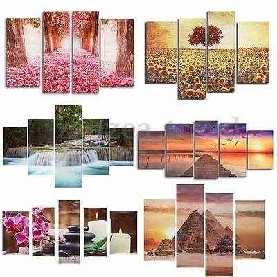 Modern Unframed Abstract Canvas Print Painting Picture Wall Hanging Mural Decor