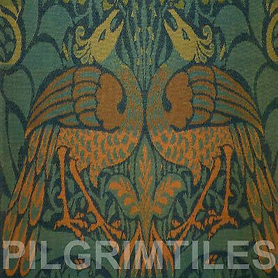 Metric Porcelain Tile William Morris Peacock Walls Floors Kitchens Bath