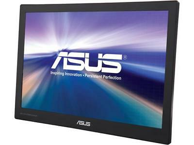 "ASUS MB169C+-X Silver / Black 15.6"" 5ms (GTG) Widescreen LED Backlight LCD Monit"