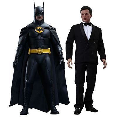 Hot Toys Batman and Bruce Wayne Sixth Scale Action Figures 2-Pack