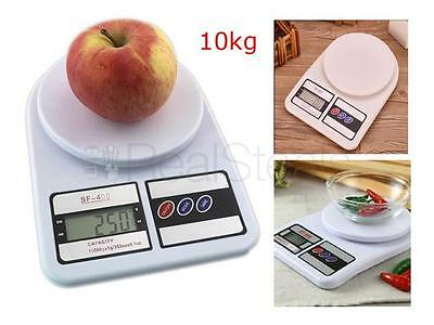 10kg DIGITAL LCD FOOD FRUIT KITCHEN POSTAL SCALE POSTAGE PARCEL WEIGHING SCALE