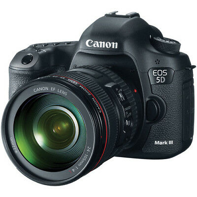 Canon EOS 5D Mark III DSLR Camera with 24-105mm Lens!! USA MODEL BRAND NEW!!