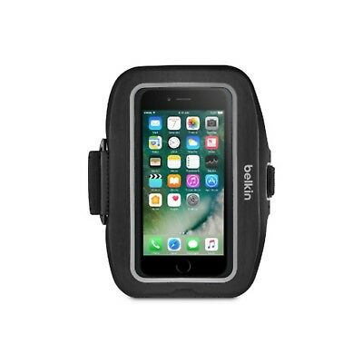 """Belkin Armband For Iphone 8 Plus 7 Plus 5.5"""" Sport-Fit Adjustable New F8W784-C00"""