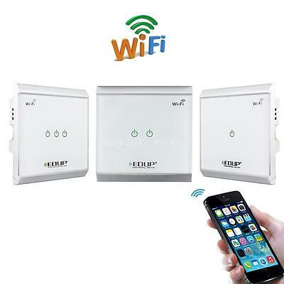 EDUP Wireless Wifi Smart Home Automation light Control Switch Wall Touch Panel