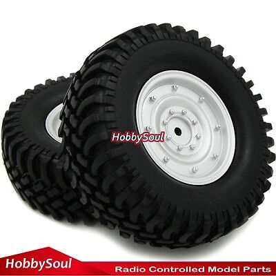 "4 Stück RC 1/10 100MM 1.9"" Crawler Reifen Felge Tires set for Tamiya RC4WD Axial"