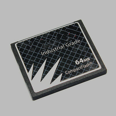 SanDisk SDCFB-128-201-80 128MB 50pin CF CompactFlash Card Industrial Grade w//SN