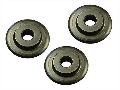 Faithfull - Pipe Cutter Replacement Wheels (Pack of 3)