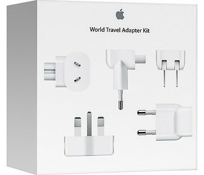 Genuine Apple World Travel Adapter Kit - Select Apple Devices White MD837AM/A
