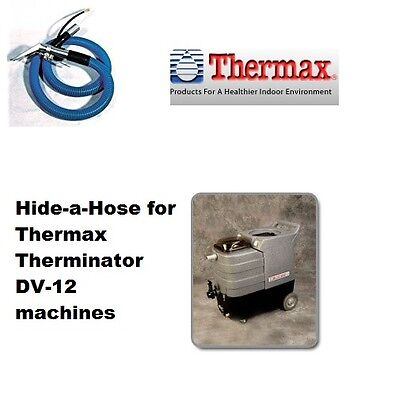 Thermax Therminator DV-12 Hide a Hose 6' Extension with Upholstery Tool, NEW