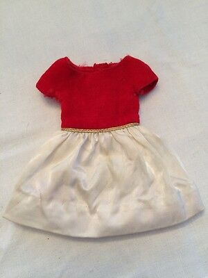 Vintage 1964 SKIPPER DOLL Fashion #1902 SILK N FANCY Dress