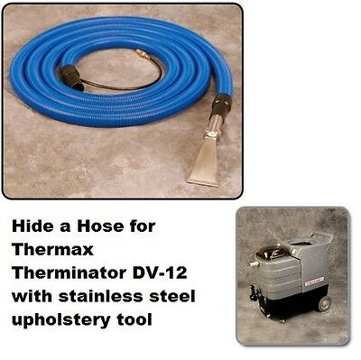Thermax Therminator DV-12 Hide a Hose 25' with Upholstery Tool, NEW