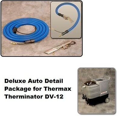 Thermax Therminator DV-12 Deluxe Auto Detail Package with 25' hide a hose, NEW