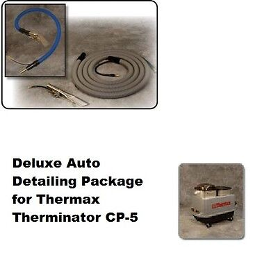 Thermax Therminator CP-5 Deluxe Auto Detail Package with 15' hide a hose, NEW