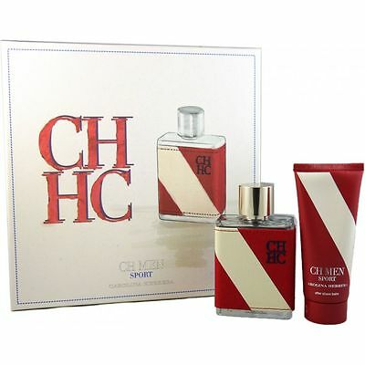 Carolina Herrera CH Men Sport Set 100 ml Eau de Toilette EDT & 100 ml Aftershave