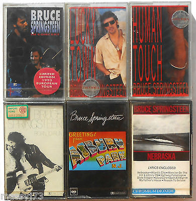 Bruce Springsteen Lotto Di 6 Mc Sigillati  Sealed