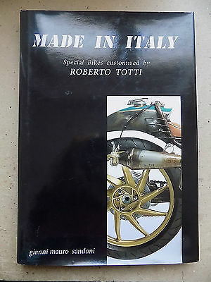 MADE IN ITALY SPECIAL BIKES CUSTOMIZED - ROBERTO TOTTI motociclette custom - A5