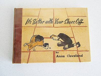 It's Better with your Shoes Off By Anne Cleveland 1963 Illustrated Japanese