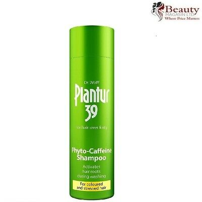 Plantur 39 Phyto-Caffiene Shampoo for Coloured and Stressed Hair 250ml