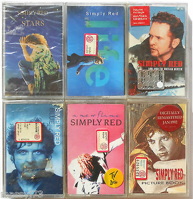 Simply Red Lotto Di 6 Mc Sigillati  Sealed