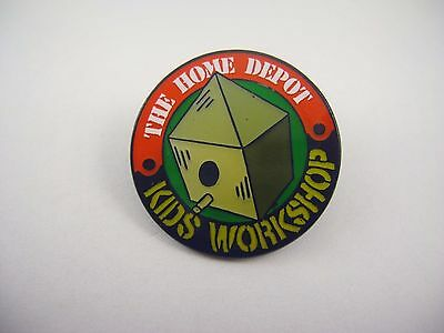 Advertising Lapel Pin: The Home Depot Kids Workshop