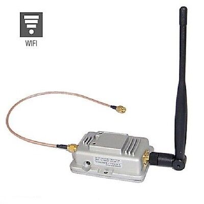 Amplificatore Segnale Per Antenna Router Booster 2W Access Point Wifi 2.4Ghz