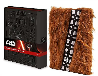New Star Wars Notebooks A5 Premium Official Licensed Chewbacca UK Student Gift