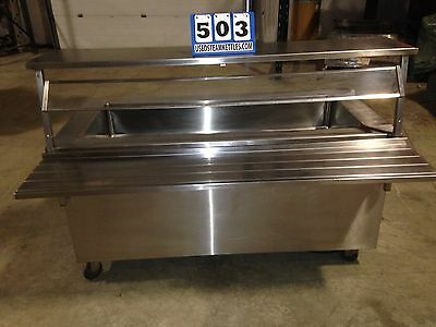 Vollrath Signature Series 36165 Refrig Cold Food Pan Salad Bar & Sneeze Guard