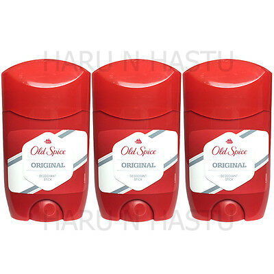 3 X Old Spice Original Deodorant Stick  Anti Perspirant Roll On 50Ml 3 Pack