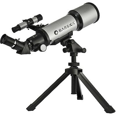 Barska AE10100 Starwatcher 40070 Compact Refractor Telescope with Table Top T...