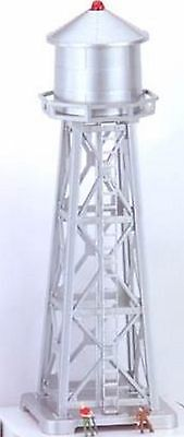 N Scale LIGHTED Water Tower  Model Trains Layout - ***Layout ready** + 2 Figures