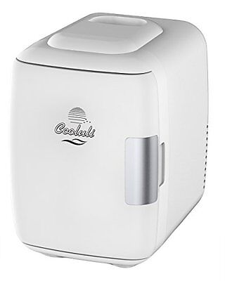 Cooluli Electric Cooler and Warmer (4 Liter / 6 Can): AC/DC Portable