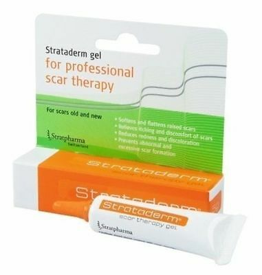~ Strataderm Scar Therapy Gel Stretch Marks Old And New 10G