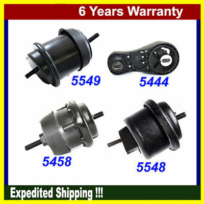 For Chevy Traverse GMC Acadia 3.6L Motor & Trans Mount 5444 5458 5548 5549 M991