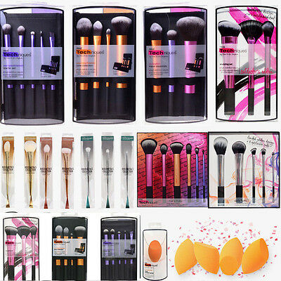 Real Techniques Makeup Travel Essentials/Starter Kit/Core Collection Brushes New