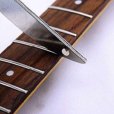 1Pcs Offset Diamond Fret File Guitar Fret Crowning Luthiers Tools for Guitar
