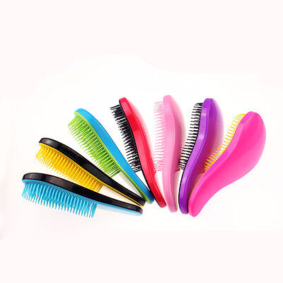Salon HOT Shower Comb Magic Tamer Handle Tangle Brush Detangling Hair Styling