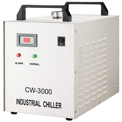 AC220V CW-3000AG Thermolysis Industrial Water Chiller for 60W/80W Laser Tube