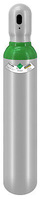 One Argon Gas Bottle Cylinder New! Full 1.8m3 8L 200 Bar Free Delivery Reusable