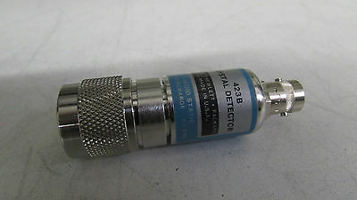 Agilent HP 423B Low-Barrier Schottky Diode Detector, 10MHz to 12.4GHz, zs-4