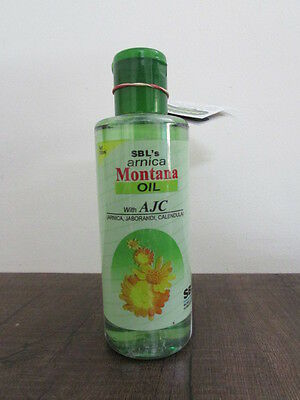 SBL Homoeopathy Arnica Montana Oil 200ml (6.76 US Fl oz) Reduces Hair Fall