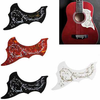 Acoustic Guitar PVC Pickguard Hummingbird Scratch Plate Adhesive Background