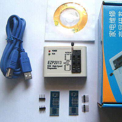 EZP2013 USB2.0 Programmer SPI Support 24 25 93 EEPROM Flash Bios Chip + Software