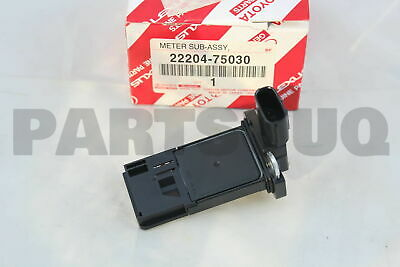 2220475030 Genuine Toyota METER ASSY, INTAKE AIR FLOW 22204-75030