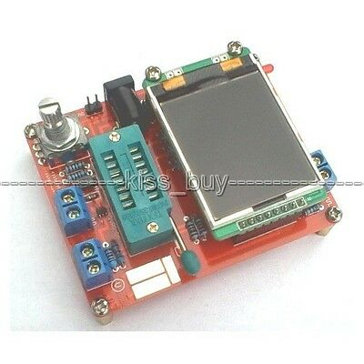 DIY Transistor Tester Capacitance ESR meter Inductance Frequency PWM Generator