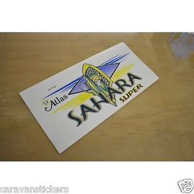 ATLAS Sahara Super Static Caravan Sticker Decal Graphic - SINGLE