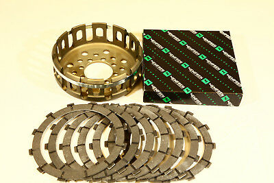 Ducati clutch friction plates with basket Set 748/916/996/998 NEU