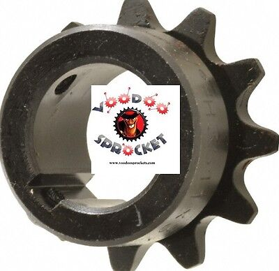 35B11 G&G, 3/8 Inch Pitch, Chain Size 35, Finished Bore Sprocket 1/2 Bore